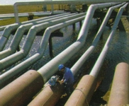 Under ground piping inspection at road crossing