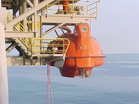 Life Boats and Davit Station Load Testing
